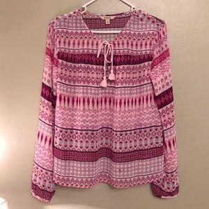 Decree pink blouse